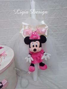 lumanare botez - Minnie Mouse