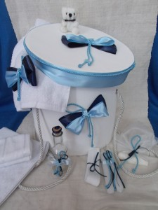 Trusou complet bleu bleumarin ursuleti - L 0717